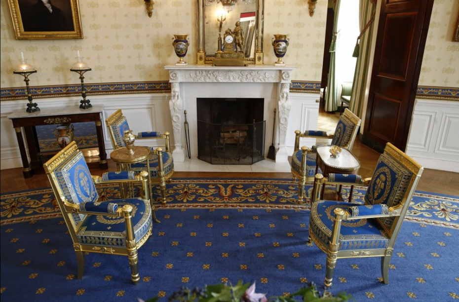 Bellange Furniture in the White House